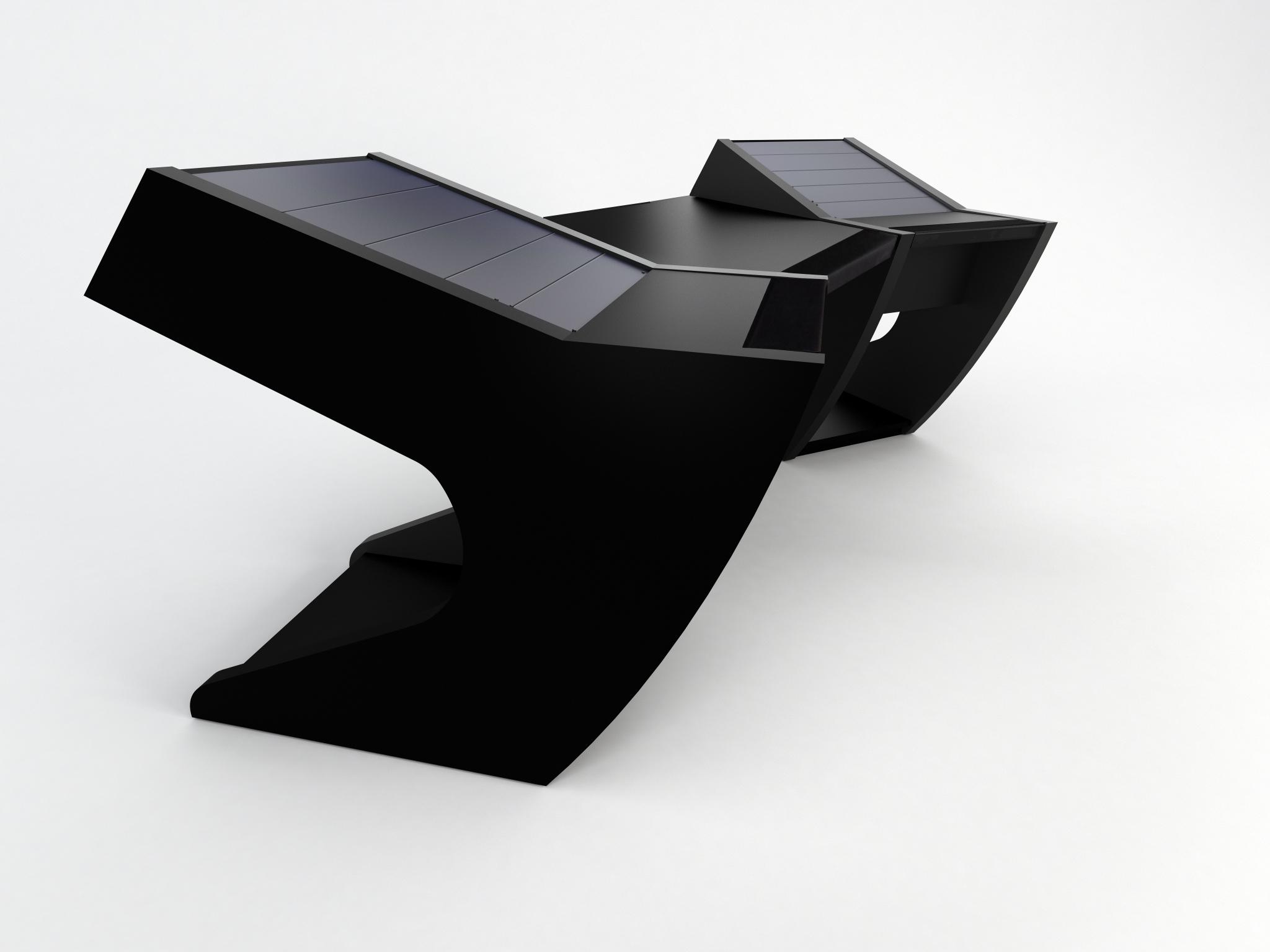 meuble pour studio d 39 enregistrement et de mastering modson silverstone station de travail. Black Bedroom Furniture Sets. Home Design Ideas