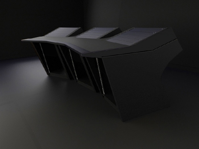 meuble de mastering et home studio modson m3. Black Bedroom Furniture Sets. Home Design Ideas